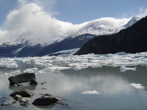 Navigating in search of the spirit of the glaciers - El Calafate - Patagonia Argentina
