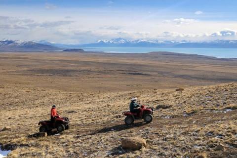 Quad motorcycles - El Calafate Balcony - Patagonia Argentina