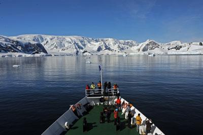 Crucero a la Antártida: Proa al continente helado