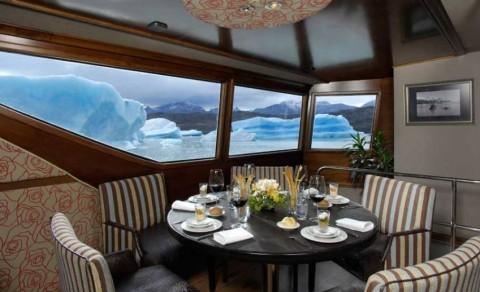 Almuerzo gourmet a bordo del Marpatag
