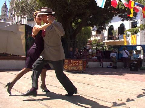 Tango en San Telmo - Buenos Aires