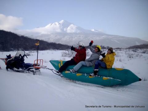 Snowbanana para la diversión de toda la familia - Ushuaia