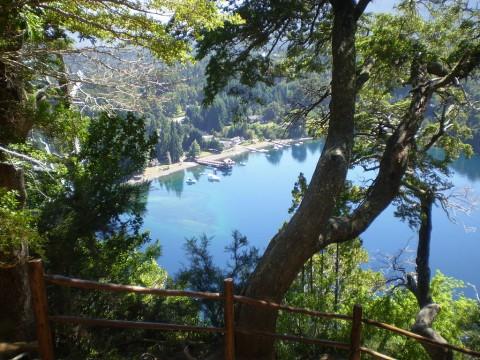Vista del puerto de Villa La Angostura - Foto Claudio Elías