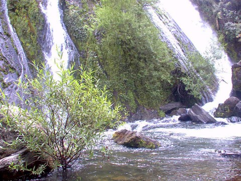 Cascada Escondida - Mallín Ahogado - El Bolsón - Patagonia Argentina