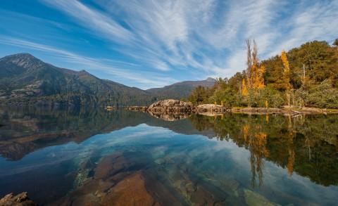 Nonthue Lake. Photo Official website Tourist Office Neuquen Province