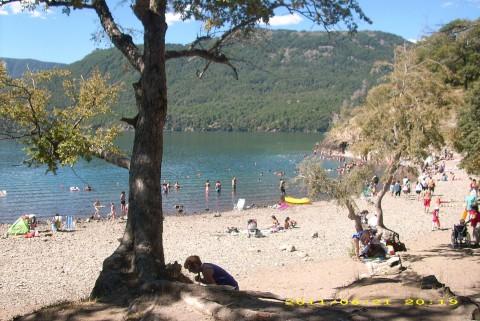 Playa Catitre en verano - Foto Zaida Bejarano