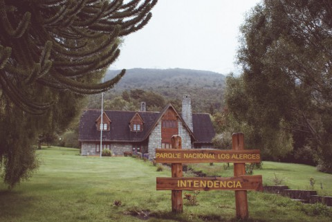 Entrance to Los Alerces National Park - Photo: Secretaría de Turismo de Esquel