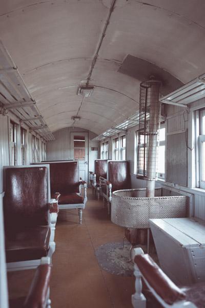Antiguo vagón de primera clase en La Trochita - Foto: Secretaría de Turismo de Esquel