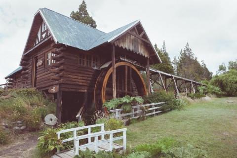 Viejo molino de Trevelin -Foto Secretaría de Turismo de Esquel