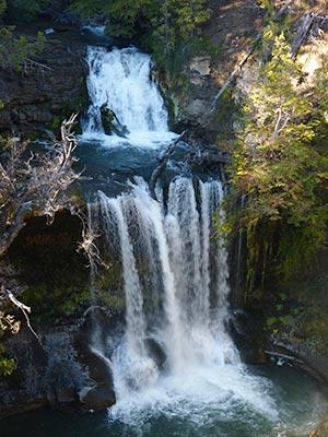 Cascadas Nant y Fall - Foto: chubutpatagonia.gob.ar