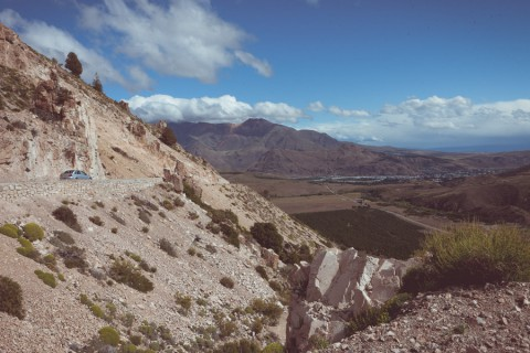 View of the road to La Hoya in summer - Photo: Secretaría de Turismo de Esquel