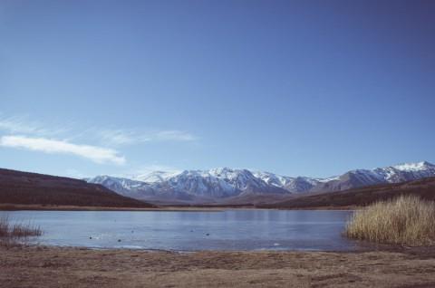 Vista invernal desde Laguna La Zeta - Foto: Secretaría de Turismo de Esquel