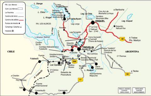 Circuitos en Trevelin - Foto: trevelin.gob.ar