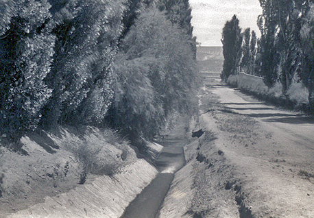 Historic irrigation ditch in Chos Malal - Foto: neuquentur.gob.ar
