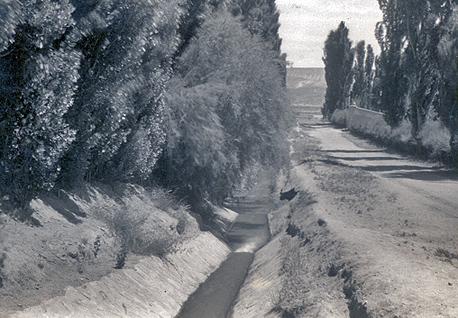 Historic irrigation ditch in Chos Malal - Foto: neuquentur.gob.ar