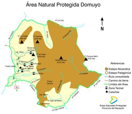 ANPP Sistema Domuyo - Foto: neuquentur.gob.ar