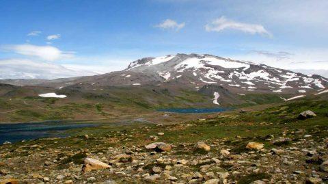 El volcán Copahue - Patagonia Argentina