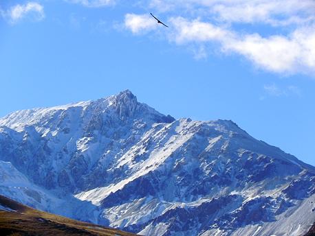El volcán Domuyo - Foto: neuquentur.gob.ar