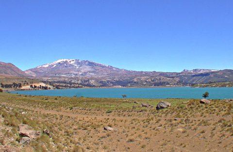 Caviahue lake - Patagonia Argentina