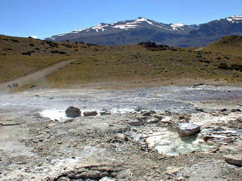 Géisers en Las Olletas - Patagonia Argentina
