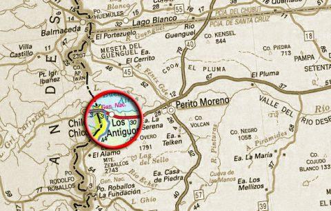Mapa de Los Antiguos - gendarmeria.gov.ar