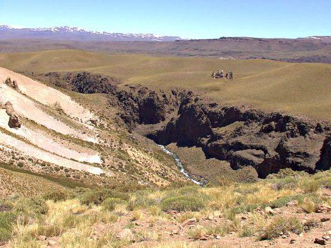 El cajón del Atreuco - Patagonia Argentina