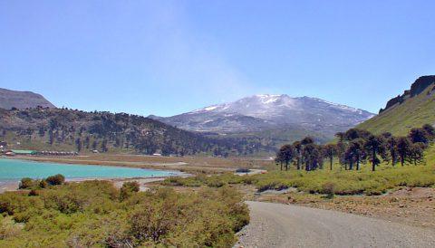Vista de Caviahue - Patagonia Argentina