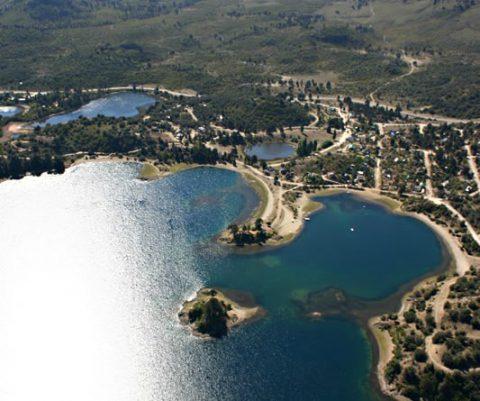 Vista panorámica de la Península de los Coihues - Foto: www.villapehuenia.gob.ar