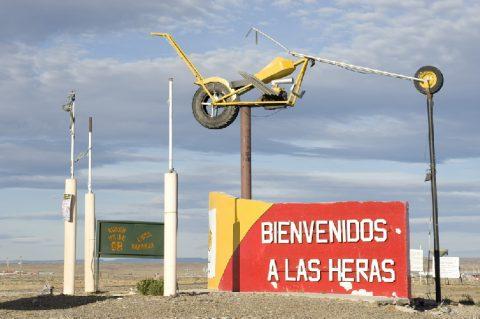 Acceso a Las-heras- Foto: comodoro.gov.ar1