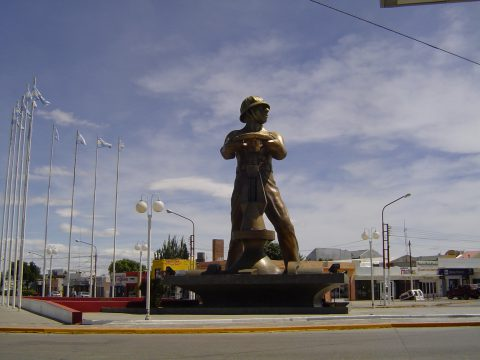 El Gorosito, símbolo de Caleta Olivia - Patagonia Argentina