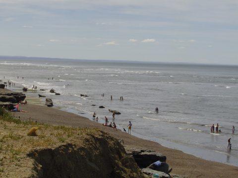 La costanera de Caleta Olivia - Patagonia Argentina
