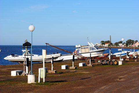 Embarcadero de Bahía San Blas - Foto: comarcahoy.com.ar