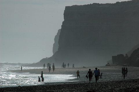Las playas del Balneario El Cóndor - Foto: Turismo Municipalidad de Viedma