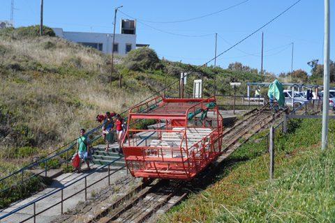 """El """"carrito"""" de la Lobería - Foto: Turismo Municipalidad de Viedma"""