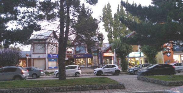 El centro de El Calafate