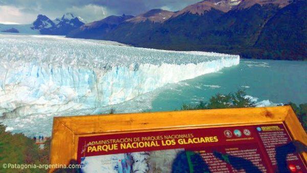 El magnífico Glaciar Perito Moreno, otro de los Patrimonios de la Humanidad Unesco a visitar en Argentina.