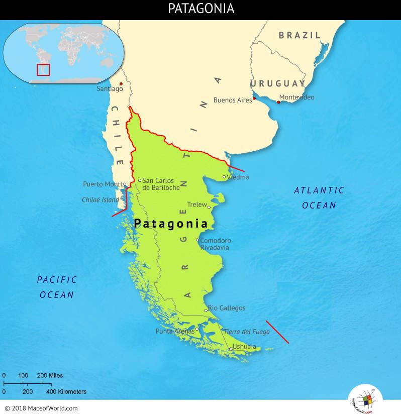 Regiones de la Patagonia Argentina – PATAGONIA-ARGENTINA.COM